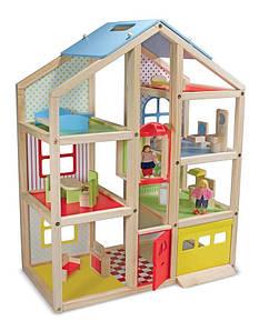 Багатоповерховий дерев'яний ляльковий будиночок Melіssa&Doug (MD4570) 14.6 х 62.9 х 78.7 см, 352