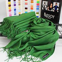 """Шарф палантин Ozsoy """"Луиза"""" зеленый 116068"""