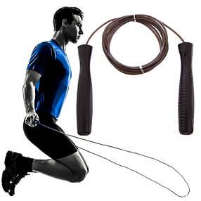 Скакалка для кроссфита скоростная скакалка для фитнесса с подшипником, фото 2
