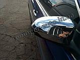 Хром накладки на зеркала Toyota Camry 2011-2017 (D807), фото 2