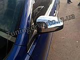 Хром накладки на зеркала Toyota Camry 2011-2017 (D807), фото 3
