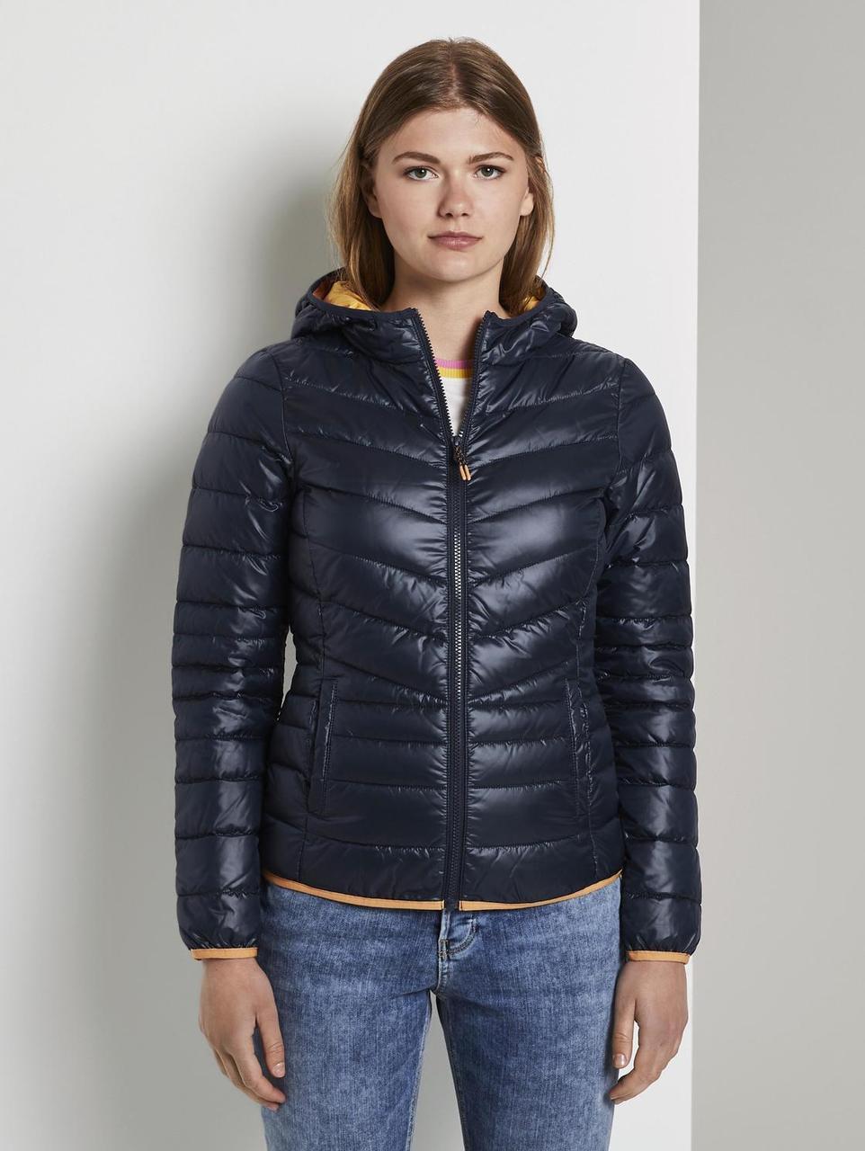 Куртка Tom Tailor 1019458 XS Темно-синий