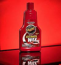 Очиститель жидкий воск - Meguiar`s Cleaner Wax Liquid 473 мл. (A1216), фото 2