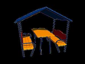 """Аксесуар до дитячого центру Будинок зі столиком """"Океан"""" (kg_12610)"""