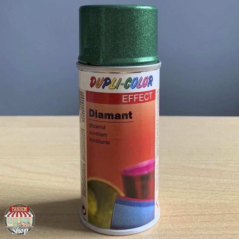 Краска с эффектом бриллианта Dupli Color Glitter Spray, 150 мл Аэрозоль Зеленый