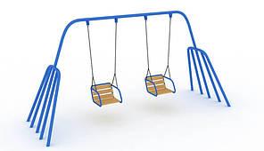 "Дитяча Гойдалка ""Близнята"" база (без сидінь) (kg_12201) 3,0x1,4x2,4, 406"