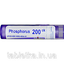 Boiron, Single Remedies, Фосфор, 200CK, прибл. 80 гранул
