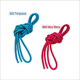 Скакалка Chacott ORIGINAL PRACTICE GYM ROPE (NYLON) 2,5м Цвет: 048.Very Berry, фото 4