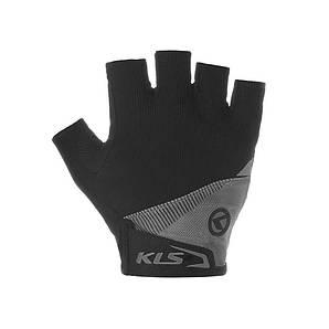 Велорукавиці KLS Comfort 2018 XL Blue (48QW76) 1909, XL, Рукавички, Black-Grey