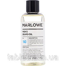 Marlowe, Men's, масло для бороды, №143, 88,7мл