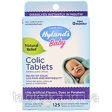 Hyland's, Baby, таблетки от колик, 125 таблеток