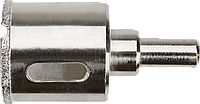 Сверло 57H279 Graphite 8 мм, алмазное, по кафелю и стеклу, трубчатого типа