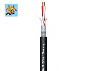 SOMMER SC-SOURCE Кабель микрофонный 2х0,25 мм, черный