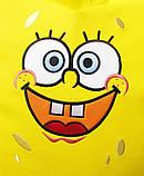 Кресло-пуф мешок бескаркасное детское мягкое Губка Боб, фото 8