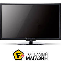 Черный led телевизор для кухни 24 без smart tv Luxeon 24L33 c гибридный компонентный/композитный, гибридный компонентный/композитный, гибридный