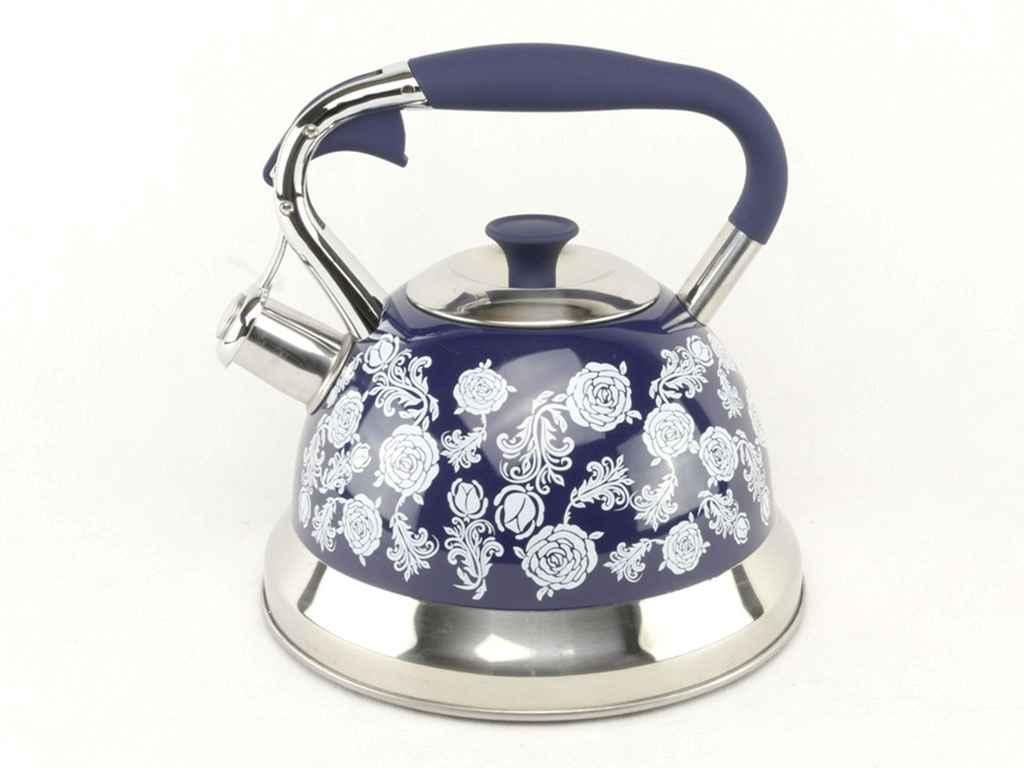 """Нержавіючий чайник """"А-ПЛЮС"""" 3 літри 1376-WK зі свистком"""