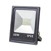 Прожектор світлодіодний ЕВРОСВЕТ 50Вт 6400К EV-50-01 4000Лм SMD