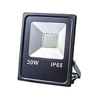 Прожектор світлодіодний ЕВРОСВЕТ 30Вт 6400К EV-30-01 2100Лм SMD