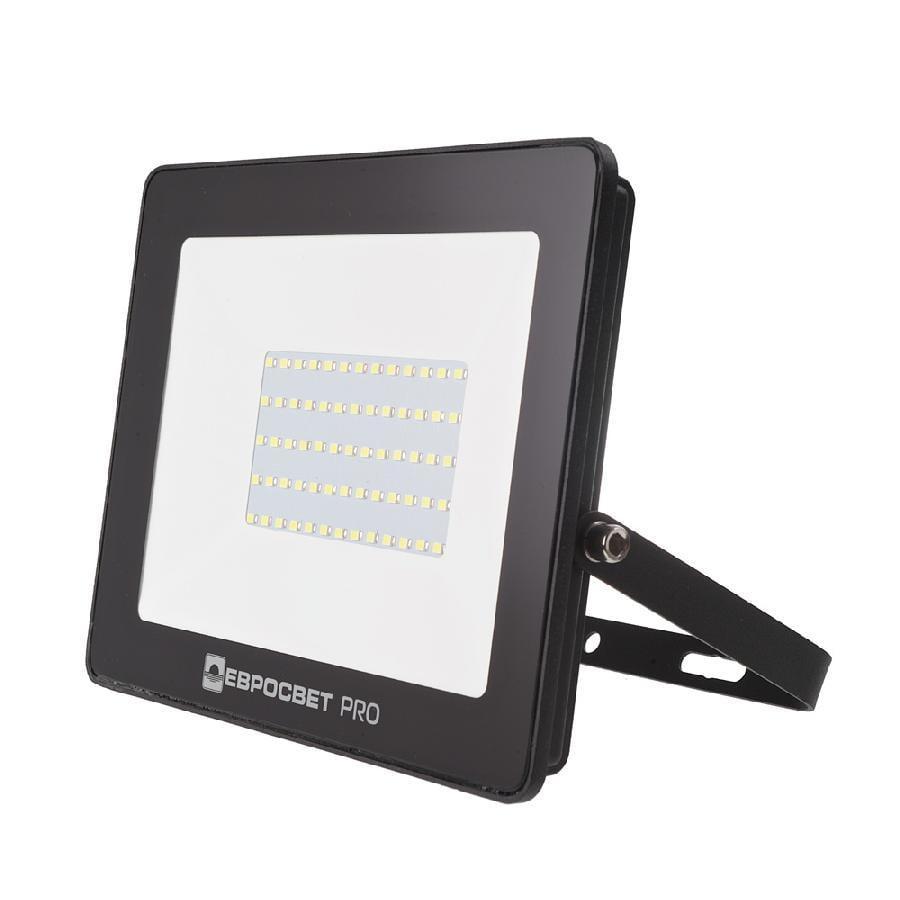 Прожектор світлодіодний ЕВРОСВЕТ 50Вт 6400К EV-50-504 PRO 4500Лм