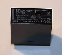 Реле электромеханическое  K2AK012T;  12VDC
