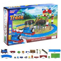 Конструктор игрушечный пластиковый.Игрушечная железная дорога.Детский игровой набор