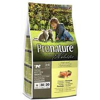 Pronature Holistic Kitten Chicken & Sweet Potato Cat, Корм для котят 2,72 кг