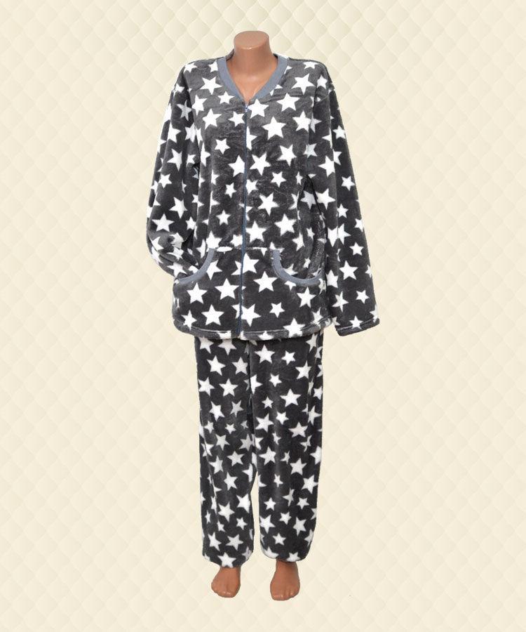Пижама женская Звёзды велсофт