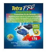 Корм для аквариумных рыб всех видов, дополнительная защита Tetra TETRAPRO Vegetable 12 г