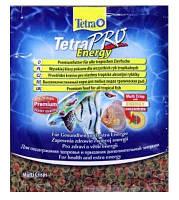 Корм для аквариумных рыб всех видов, чипсы Tetra TETRAPRO Energy  12 г