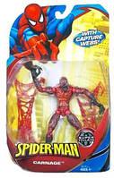 Игровая Фигурка Суперзлодей Карнаж, Легенды Марвел Человек-паук, высота 15 см - Carnage, Marvel Legends,