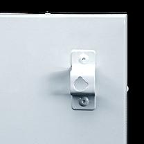 Обогреватель инфракрасный UDEN-S 500D, металлокерамическая настенная панель 975х350х15 мм 500 Вт, фото 3