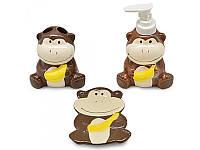 "Набор для ванной ""Monkey"" 3 предмета"