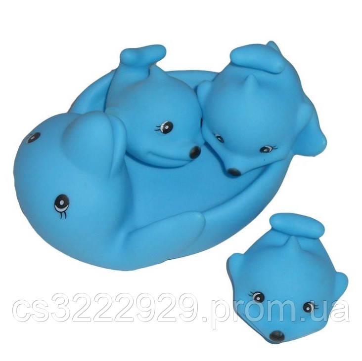 Игрушка для купания 522-3-4 (Дельфин)