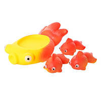 Игрушка для купания 522-3-4 (Рыбка)