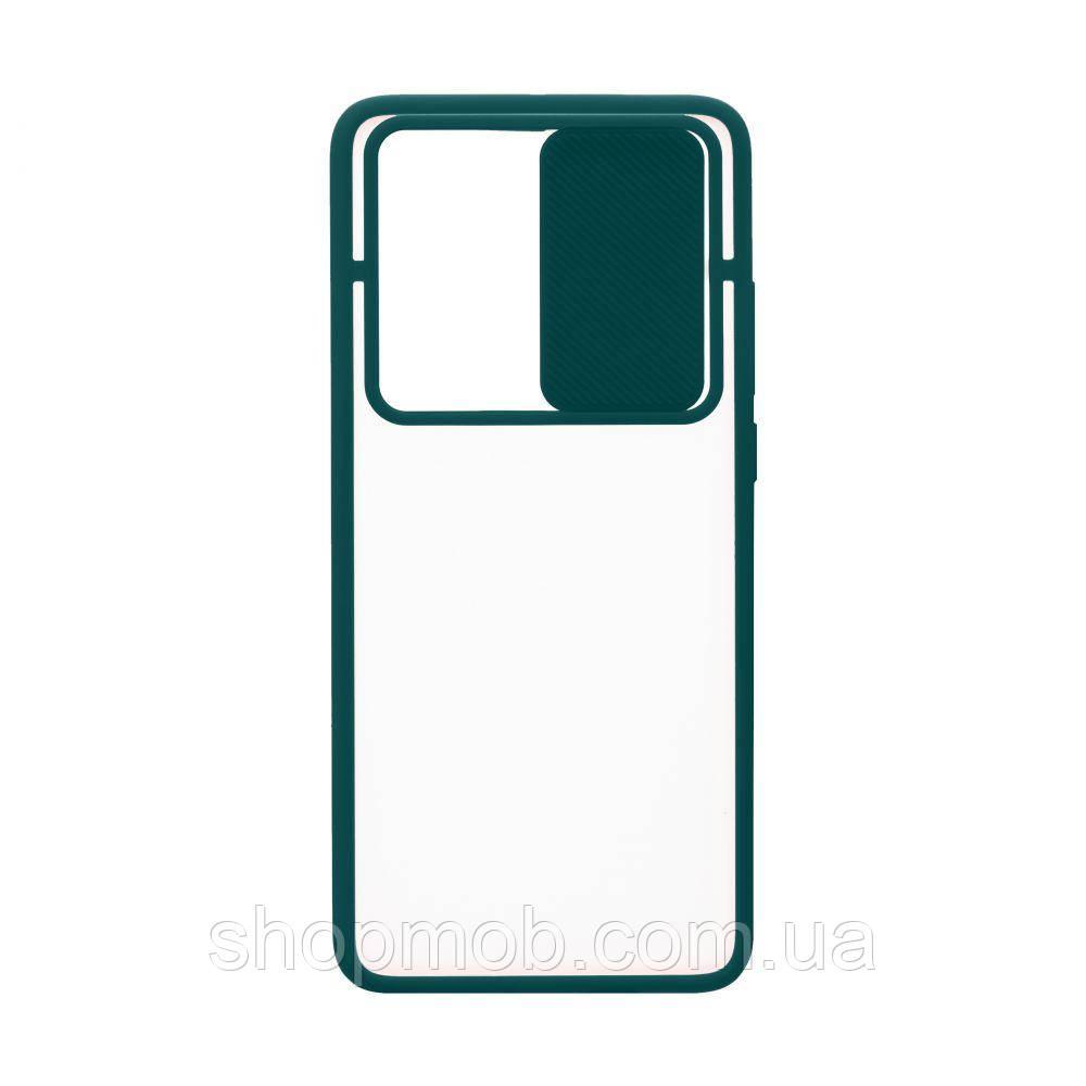 Чехол Totu Curtain for Huawei P40 Pro Цвет Зелёный