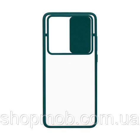 Чехол Totu Curtain for Huawei P40 Pro Цвет Зелёный, фото 2