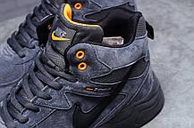 Кроссовки мужские Зимние НайкNike ZooM Air Span, темно-серые, кроссовки мужские спортивные повседневные nike, фото 3