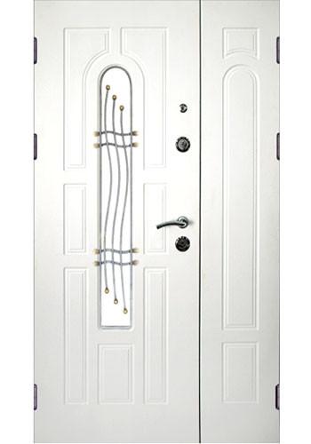 Двери на заказ, теплые двери, индивидуальные размеры, двери с ковкой и стеклом
