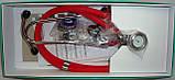 Стетоскоп Раппапорта LD SteTime с часами, профессиональный, 5 рабочих комбинаций стетоскопа, длина трубок 56см, фото 3