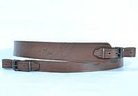 Ремень для ружья трапеция кожа коричневый