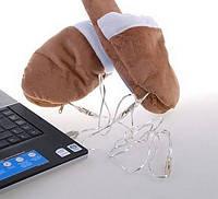 Зручні USB-тапочки з підігрівом, фото 1