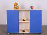 Детский Стеллаж двухдвернный (разные цвета)