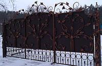 Кованные ворота 1664