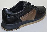 Кроссовки мужские кожаные от производителя модель ГЛ3381, фото 5