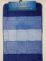 Набор ковриков с ворсом для ванной (Турция) 50х80 и туалета 50х40см., фото 1