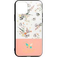Чехол Butterfly Case для Huawei Y6s Pink