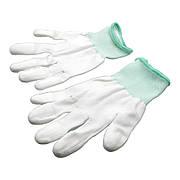 Перчатки антистатические AIDA с полиуретановой поверхностью на пальцах (комплект 2 шт)