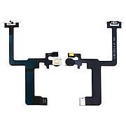 Шлейф для Apple iPhone 6 Plus на кнопку вкл./выкл., с вспышкой и микрофоном