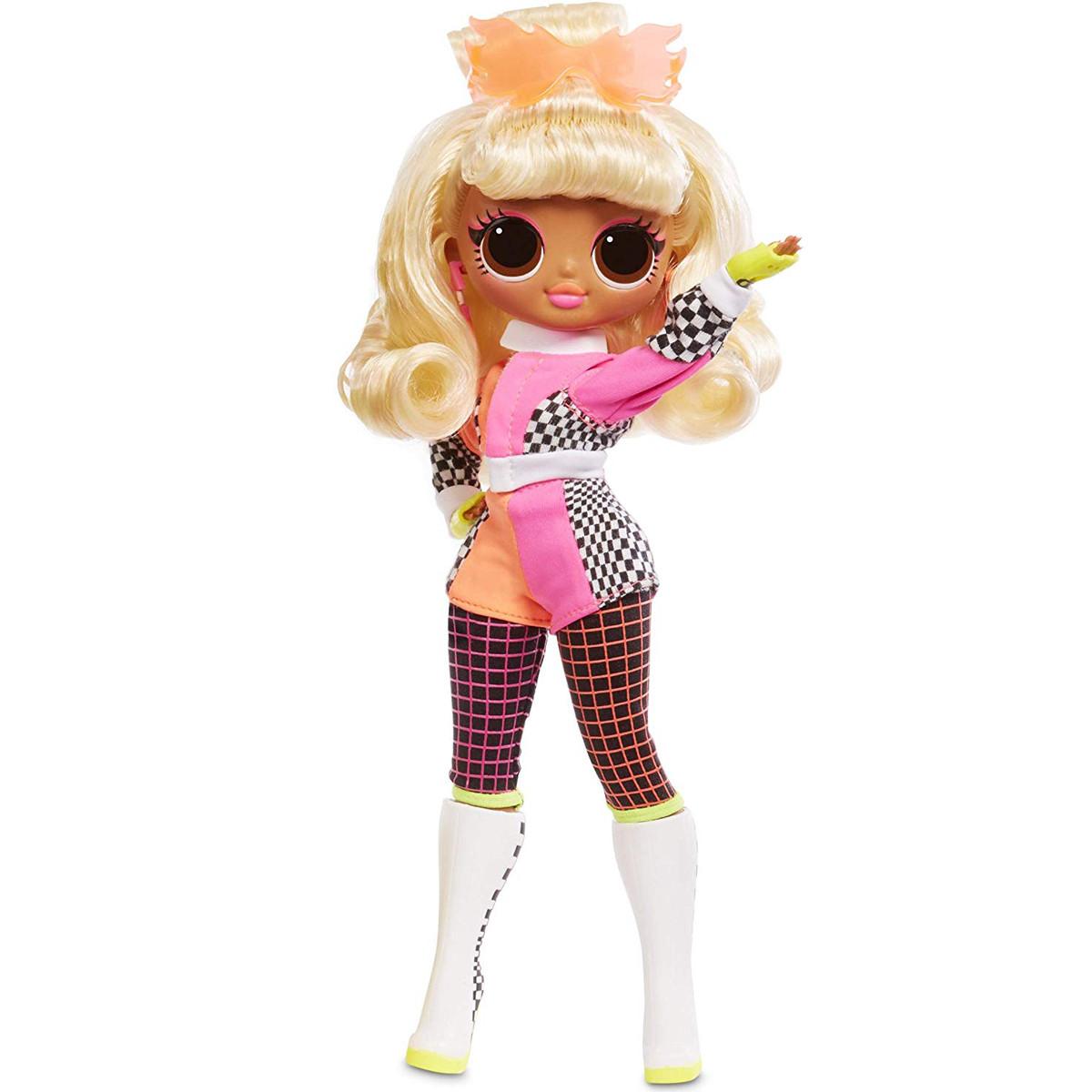 Неонова Лялька ЛОЛ Спідстер світиться світиться L. O. L. Surprise! O. M. G. Lights Speedster