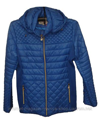Женская куртка демисезон полубатал